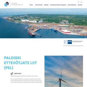 Investinpaldiski veebileht